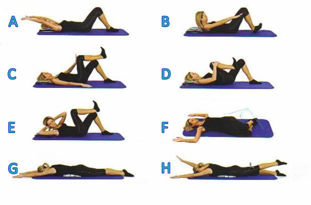 Vježbe za Vaša leđa