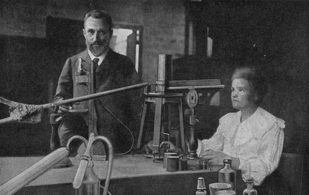 Marie Sklodowska-Curie i Pierre Curie