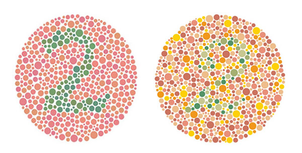 Ispitivanje kolornog vida