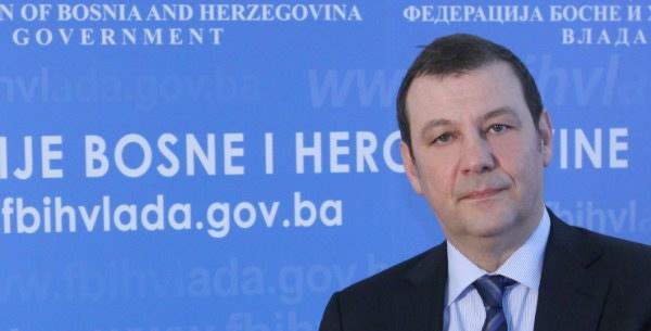 Ministar zdravstva dr. Rusmir Mesihović